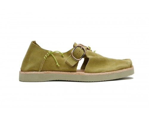 BENIRRAS Suede - Green Clay