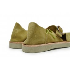 BENIRRAS SUEDE - GREEN CLAY