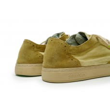 YUKAI SUEDE-LIN - GREEN CLAY